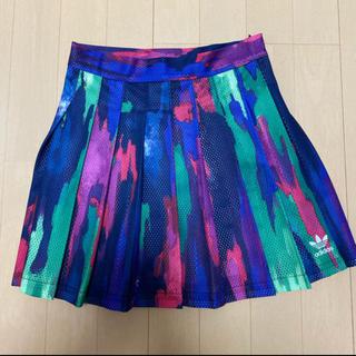 アディダス(adidas)の新品未使用 タグ付き! adidas originals プリーツスカート(ミニスカート)