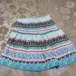 ANNA SUI mini - 美品!ANNA SUIミニ  130  スカート  値下げしました!