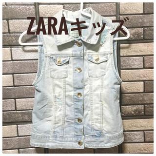 ザラキッズ(ZARA KIDS)の☆新品☆ デニムベスト キッズ ☆送料無料☆(ジャケット/上着)