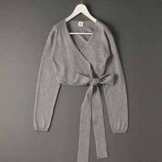 BEAUTY&YOUTH UNITED ARROWS - COTTON SILK CASHMERE CACHE COEUR KNIT