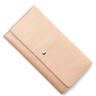 エムエムシックス(MM6)の新品 メゾンマルジェラ MM6 長財布 レザー ウォレット (財布)