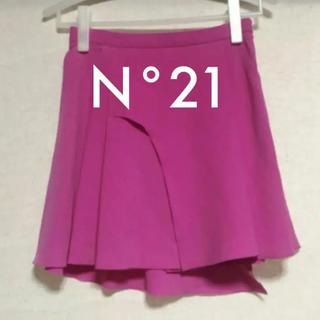 ヌメロヴェントゥーノ(N°21)のN°21 ヌメロヴェントゥーノ フレアースカート Mサイズ(ミニスカート)