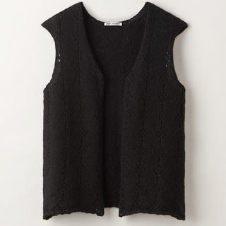 OURLEGACY 20ss CROCHET VEST
