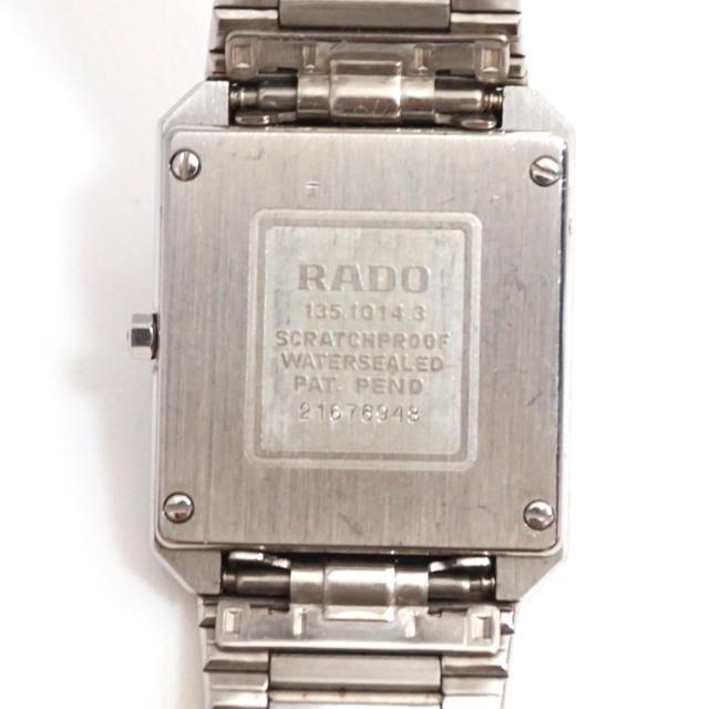 RADO(ラドー)のラドー 時計 ラドー RADO ダイヤスター 2Pダイヤモンド メンズの時計(腕時計(アナログ))の商品写真