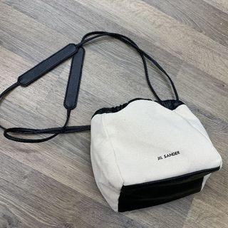 Jil Sander - ジルサンダー 巾着 ドローストリングバッグ bag