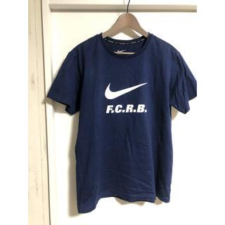 エフシーアールビー(F.C.R.B.)のFCRB×NIKE のTシャツ サイズXL ネイビー(Tシャツ(半袖/袖なし))