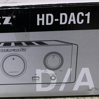 デノン(DENON)のMarantz HD-DAC1ヘッドホンアンプ 美品(アンプ)
