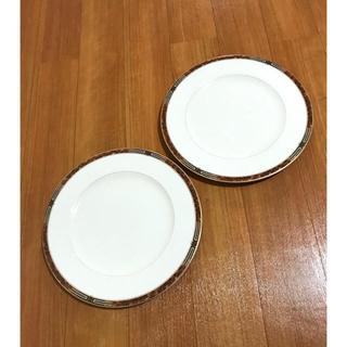 ミカサ(MIKASA)の美品!ミカサ MIKASA・ボーンチャイナ ペアプレートセット(食器)