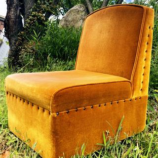 昭和63年 ビンテージ レトロ シングルソファ 椅子 レトロ