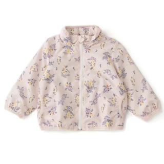 プティマイン(petit main)の新品♡プティマイン 120 花柄ウィンドブレーカー(ジャケット/上着)