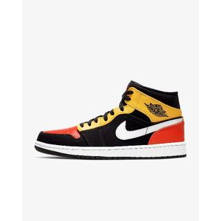 ナイキ(NIKE)の881 NIKE AIR JORDAN 1 MID ORANGE 28.5cm(スニーカー)