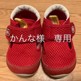 mikihouse - ミキハウス  女の子 水陸両用 サンダル 13.5㎝