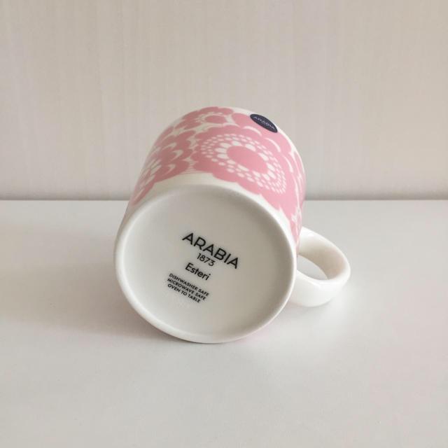 ARABIA(アラビア)のアラビア エステリ マグカップ 2個セット インテリア/住まい/日用品のキッチン/食器(グラス/カップ)の商品写真