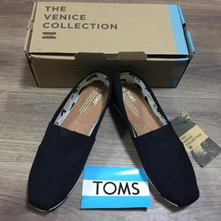 トムズ(TOMS)の新品未使用!正規品TOMSトムズ ブラックキャンパス25.5センチ(スニーカー)