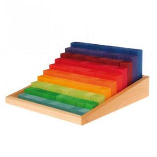 BorneLund - グリムス 虹のカウンティングブロック スモール