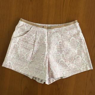 MISCH MASCH - 美品 花柄リボン刺繍ショートパンツ