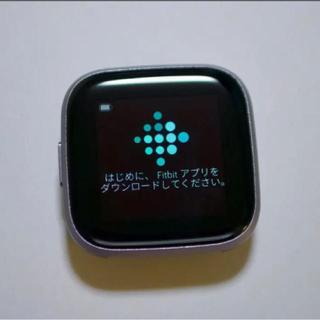 フィットフィット(fitfit)のFitbit Versa 2(腕時計(デジタル))