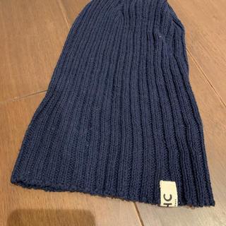 ロンハーマン(Ron Herman)の男子兼用❤️ニット帽ロンハーマン(紺色)(ニット帽/ビーニー)