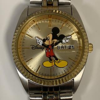 ディズニー(Disney)のディズニー 通称 ロレックス ミッキー メンズ 腕時計 コンビカラー 要電池交換(腕時計(アナログ))