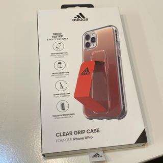 アディダス(adidas)のiPhone11pro ケース adidas 新品 ベルトグリップスタンド(iPhoneケース)