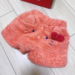 futafuta - キティー限定ボアショート パンツ 80cm
