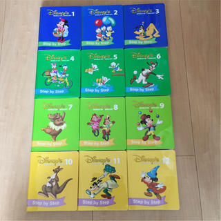 ディズニー(Disney)のディズニー英語システム DWE Step by Step DVD 24枚セット(知育玩具)