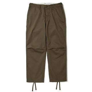 1LDK SELECT - 完売 just right Mil Trousers オリーブ L 軍パン