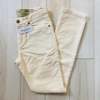 ロンハーマン(Ron Herman)の【新品未使用】トミーバハマ メンズ ホワイト パンツ Sサイズ(デニム/ジーンズ)