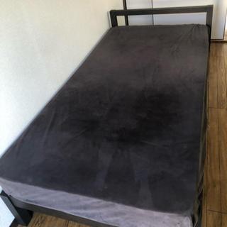 ムジルシリョウヒン(MUJI (無印良品))の【送料込】シングルベッド(シングルベッド)