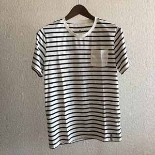 カスタムカルチャー(CUSTOM CULTURE)のrequest  ポケット付きボーダー Tシャツ(Tシャツ/カットソー(半袖/袖なし))