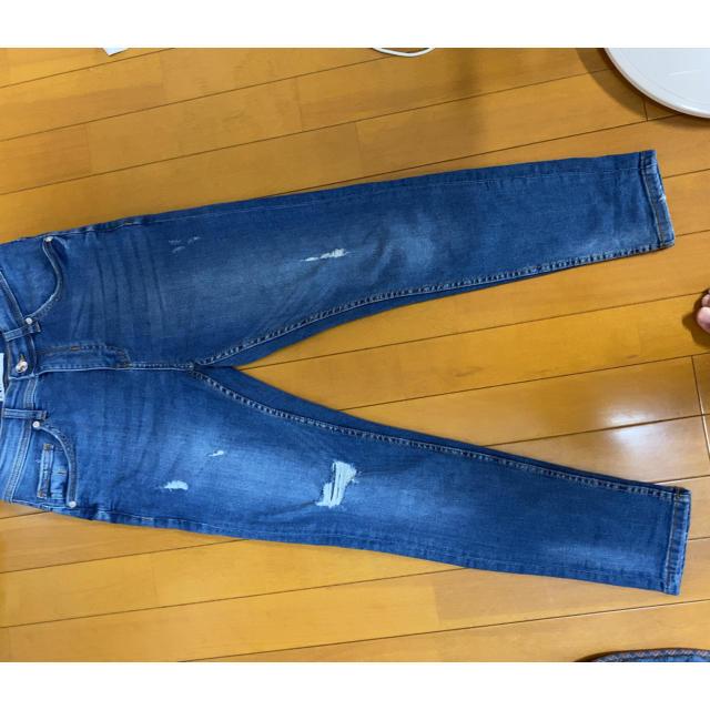 ZARA(ザラ)のZARA ダメージジーンズ メンズのパンツ(デニム/ジーンズ)の商品写真