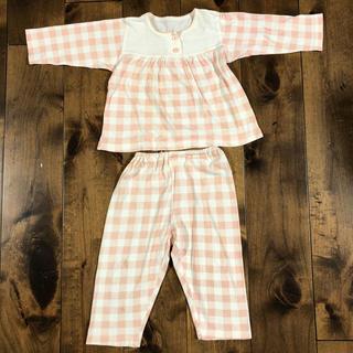 ムジルシリョウヒン(MUJI (無印良品))の無印良品 ピンク パジャマ 95(パジャマ)