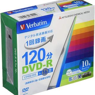 ミツビシ(三菱)のDVD-R 1回録画用 10枚(その他)