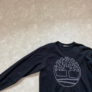 ティンバーランド(Timberland)の90's Timberland Long Sleeve Big logo TEE(Tシャツ/カットソー(七分/長袖))