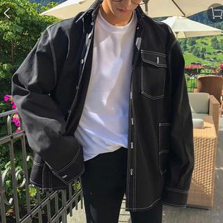 ザラ(ZARA)の韓国 エジュクロ ASCLO デニムジャケット(Gジャン/デニムジャケット)