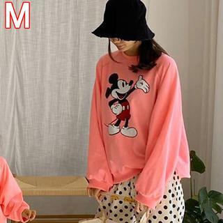ディズニー(Disney)の親子コーデ ミッキー  スウェット ママサイズ(トレーナー/スウェット)