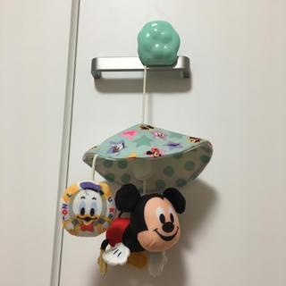 ディズニー(Disney)のミニメリー ミッキーマウス(ベビーカー用アクセサリー)