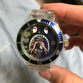 アベイシングエイプ(A BATHING APE)のエイプ BAPEX® シャーク 腕時計 ウォッチ(腕時計(アナログ))
