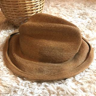 トゥモローランド(TOMORROWLAND)のフレッドベアー 麦わら帽子 ハット パナマ帽 イングランド製 中折れハット(麦わら帽子/ストローハット)