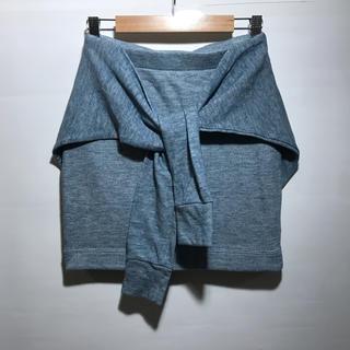 snidel - snidel 袖付き ミニスカート 美品