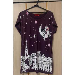 グラニフ(Design Tshirts Store graniph)のTシャツワンピース graniph(ひざ丈ワンピース)