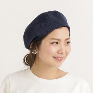 アーバンリサーチ(URBAN RESEARCH)のアーバンリサーチ サマーコットンベレー帽 未使用品サーモベレー(ハンチング/ベレー帽)
