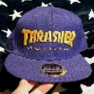 スラッシャー(THRASHER)の美品【THRASHER】★キャップ★(キャップ)