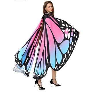 ディズニー(Disney)の蝶の羽 マント コスプレ 新品未使用(ナイトドレス)