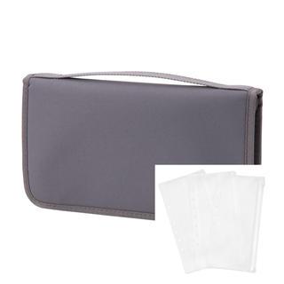 ムジルシリョウヒン(MUJI (無印良品))のあ新品 無印良品  ポリエステルパスポートケース・クリアポケット付 (旅行用品)