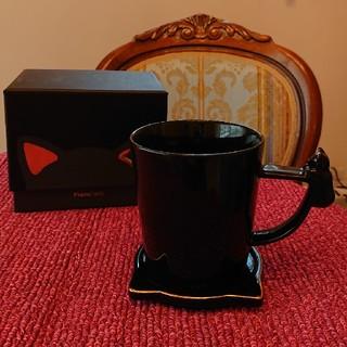 フランフラン(Francfranc)のFrancfranc黒猫マグカップ(マグカップ)