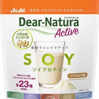 アサヒ - ディアナチュラアクティブ ソイプロテイン ソイミルク味 360g