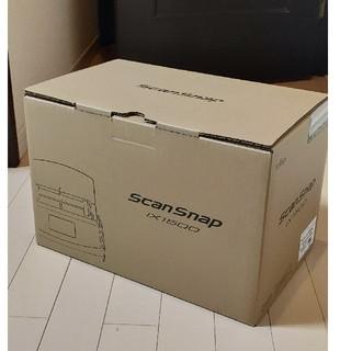 フジツウ(富士通)のScanSnap iX1500(ブラックモデルFI-IX1500BK(PC周辺機器)