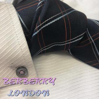 BURBERRY - バーバリー ロンドン ネクタイ【美品】チェック柄 厚手 裏地ノバチェック