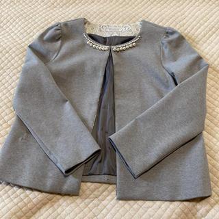 クチュールブローチ(Couture Brooch)のノーカラージャケット (ノーカラージャケット)